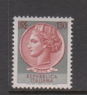 Italy Republic S 1018 Coin 130 Lire,mint Never  Hinged - 1961-70: Mint/hinged