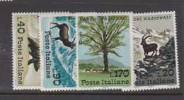 Italy Republic S 1040-1043 1967 National Parks,mint Never  Hinged - 6. 1946-.. Republic