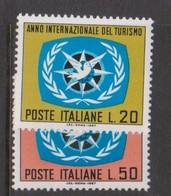 Italy Republic S 1057-1058 1967 International Year Of Tourism,mint Never  Hinged - 1961-70: Mint/hinged