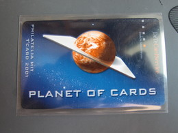 DeteCard Service, Planet Of Cards,Philatelia MIT T'card 2001,mint Expired - Duitsland