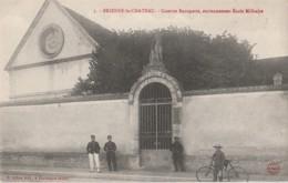 W8- 10) BRIENNE LE CHATEAU (AUBE) CASERNE BONAPARTE - ANCIENNEMENT ECOLE MILITAIRE - (ANIMEE - 2 SCANS) - France