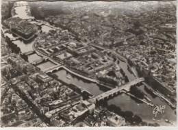 W11- 75) PARIS - VUE AERIENNE - L' ILE DE LA CITE - (2 SCANS) - France