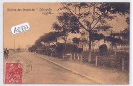 HELIOPOLIS- AVENUE DES PYRAMIDES - Egypt