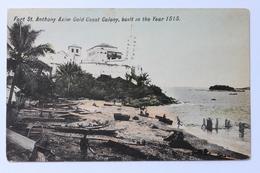 Fort St. Anthony Axim Gold Coast Colony, Built In 1515, Ghana, Africa - Ghana - Gold Coast