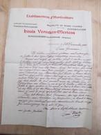Schoonaarde Louis Vereeken Horticulture 1923 - Belgique