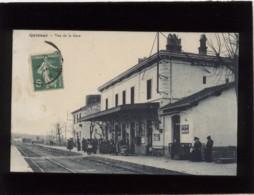 30 Quissac Vue De La Gare édit. Berthel Animée Chemin De Fer - Quissac