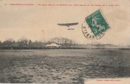 Y11- 31) TOULOUSE AVIATION - UN BEAU DEPART DE MORIN SUR L'AERODROME DU POLYGONE LE 6 MARS 1911 - Toulouse