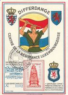 Luxembourg - Centre De La Résistance Luxembourgeoise - Philatelia Differdange 4 Au 6 Aout 1945 - Luxembourg
