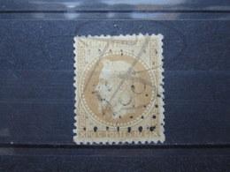 """VEND TIMBRE DE FRANCE N° 28B , G.C. """" 433 """" !!! - 1863-1870 Napoléon III Lauré"""