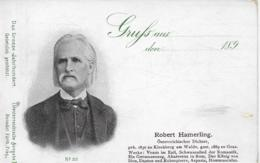 AK 0262  Robert Hammerling ( Österr. Dichter ) - Das Grosse Jahrhundert 1899 - Schriftsteller