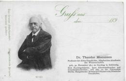 AK 0262  Dr. Theodor Mommsen ( Altertumsforscher & Geschichtsschreiber ) - Das Grosse Jahrhundert 1899 - Schriftsteller