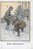 AK 0262  Frohe Weihnachten - Künstlerkarte Von A. Reckziegel Um 1920 - Weihnachten