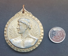 Lebanon 1980s Beautiful Thick Embossed Medal - FILA - Other