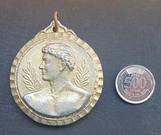 Lebanon 1980s Beautiful Thick Embossed Medal - FILA - Otros