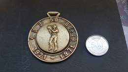 Lebanon 1971 Very Beautiful Embossed Medal -50th Anniv Of Homentmen - Tokens & Medals