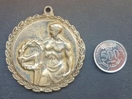 Lebanon 1998 Large & Heavy Sports Medal - Tournoi Adam Hallal - Otros