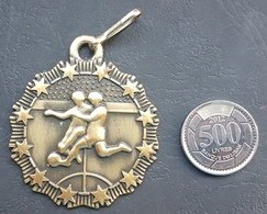 Lebanon 1980s Beautiful Sports Medal - Football Tournament Gec - Tokens & Medals