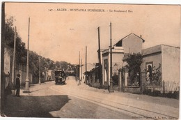 ALGER-MUSTAPHA SUPERIEUR-LE BOULEVARD BRU - Algeri