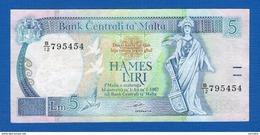 Malte  5  Liri - Malta