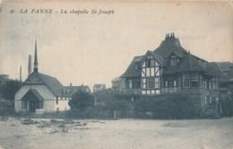 Y24-  LA PANNE - LA  CHAPELLE  ST. JOSEPH - (2 SCANS) - De Panne