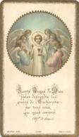 IMAGE PIEUSE CANIVET SAINTS ANGES DE DIEU IMP BOUASSE JEUNE 1932 - Imágenes Religiosas