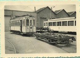 TRAM:  9935  JUMET         9 X 6 Cm ( See Detail ) 1958 - Trains