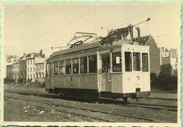 TRAM:  9904 Braine Le Comte   9 X 6 Cm ( See Detail ) 1955 - Trains