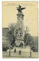 CPA 75 PARIS MONUMENT GAMBETTA - Frankreich