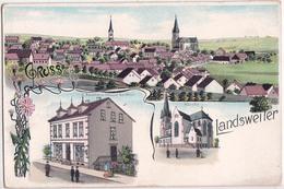LANDSWEILER-LITHO A 3 VUES - Germania