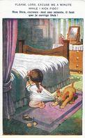 Illustration Donald Mc Gill - Please Lord, Excuse Me A Minute! (Mon Dieu Excusez-moi, Il Faut Que Je Corrige Dick) - Mc Gill, Donald
