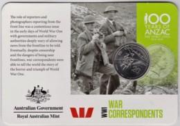 Australia 2015 ANZAC 100 Years - WW1 War Correspondents Uncirculated 20c - Monnaie Décimale (1966-...)