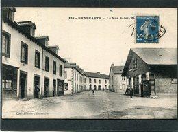 CPA - BRASPARTS - La Rue Saint Michel, Animé - Otros Municipios