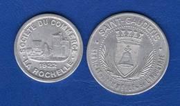 France  2  Jetons - Monetary / Of Necessity