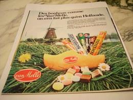 ANCIENNE PUBLICITE GAIN DE TEMPS AERIENNE AIR INTER 1975 - Publicités