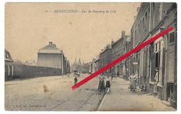 ARMENTIERES  Rue Du Faubourg  De  Lille  (recto Verso En L Etat) - Armentieres