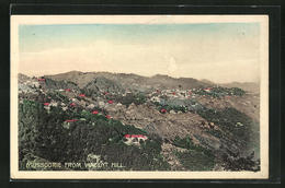 AK Mussoorie, Panorama From Vincent Hill - Indien