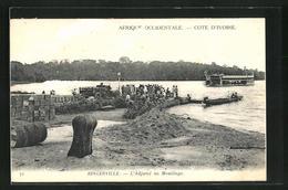 CPA Bingerville, L`Adjamé Au Mouillage - Unclassified