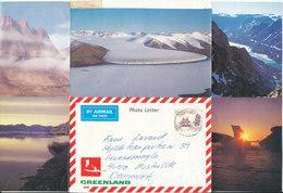 Greenland Photoletter Sent To Denmark 16-7-1985 - Greenland