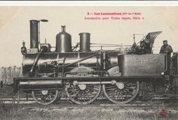 Les LOCOMOTIVES - Cie De L'Est :  Locomotive Pour Train Léger Série 2 - Trains
