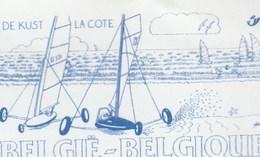 CHAR A VOILE    PAP BELGE Prior - Francobolli