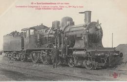 Les LOCOMOTIVES - Cie De L'Est :  Locomotive Compound à 3 Essieux Couplés Série II N° 3641 à 3700 - Trains