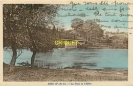 63 Joze, Le Pont Et L'Allier, Visuel Pas Courant - France