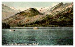 Washington Lake Minnewanka , Near Baniff - Etats-Unis
