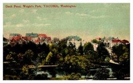 Washington Tacoma  , Wright's Park , Duck Pond - Etats-Unis