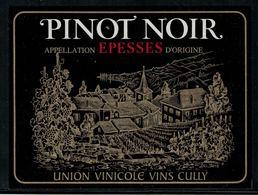 Etiquette De Vin // Pinot Noir D'episses, Vaud, Suisse - Etiquettes