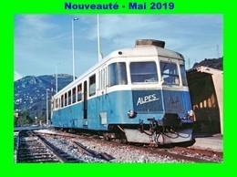 AL 563 - Autorail Renault ABH N° X 322 En Gare - COLOMARS - Alpes Maritimes - Matériel
