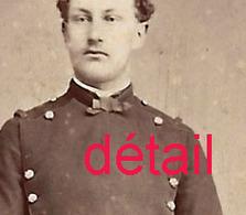 A Voir-CDV V 1875-militaire- Cavalier? Photo Colin à Chaux De Fonds - Guerre, Militaire