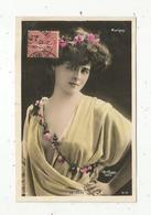 Cp, Spectacle , Artiste ,  DE VERE ,  Voyagée 1907 , Marigny - Künstler