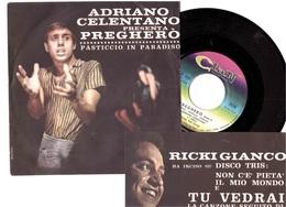ADRIANO CELENTANO PREGHERO' PASTICCIO IN PARADISO - Disco & Pop