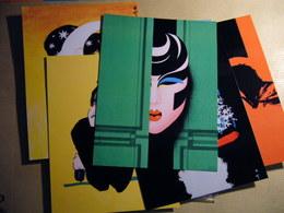 Serie De 24 Cartes Postales De GRUAU (vogue) - Illustrators & Photographers